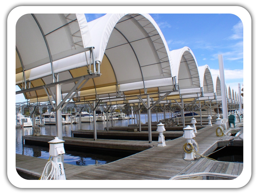 Marina Covers And Boat Storage Fabric Buildings