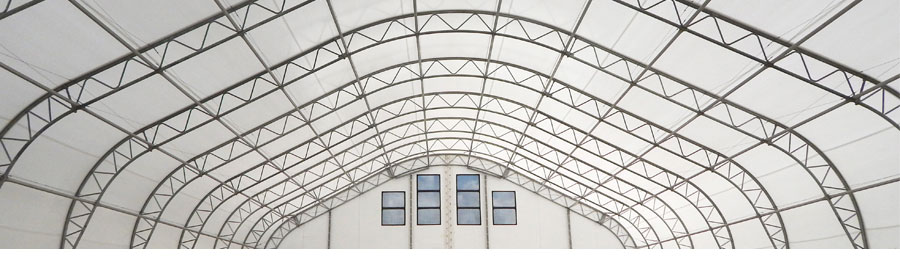 PVC fabric building roof membrane