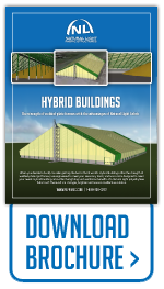Download brochure for Hybrid Series fabric buildings.