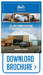 Download brochure for temporary building and warehousing applications.