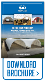 Download brochure for on-the-farm fabric building applications.
