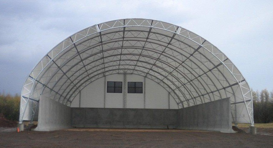 Dp Series Fabric Buildings Natural Light Fabric Structures
